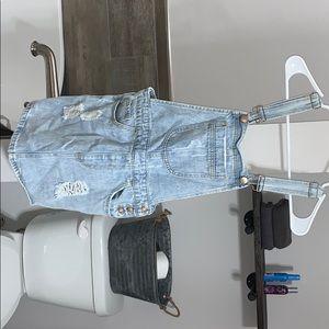 Blue Jean Dress overalls